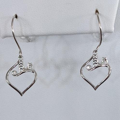 Bridge to Her Heart Tower Earrings
