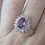Thumbnail: Amethyst Ring in Sterling Silver