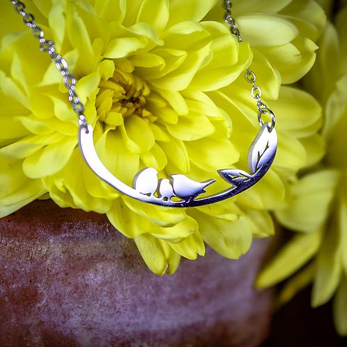 Birds on a Branch Necklace