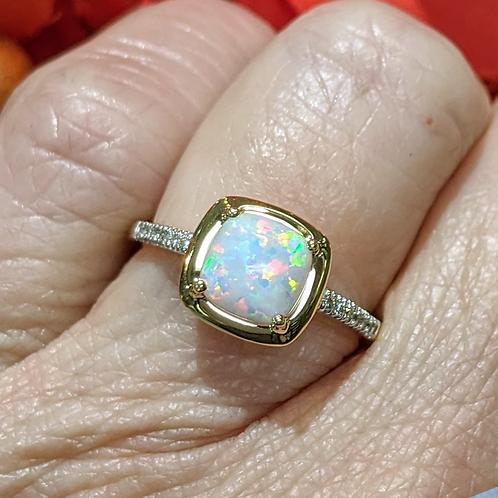 Malia Opal Ring