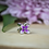 Thumbnail: Sterling Silver Lilac Bead