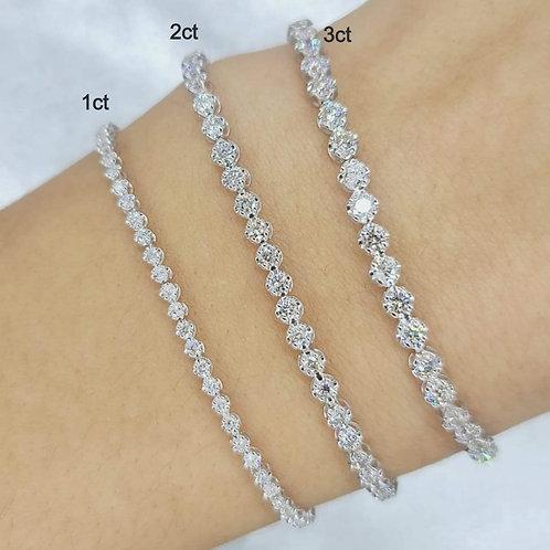 3ct Diamond Tennis Bracelet