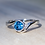 Thumbnail: Blue Spinel Wave Ring