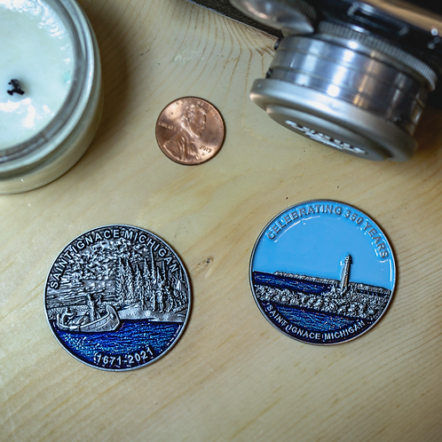350th Commemorative St. Ignace Coin