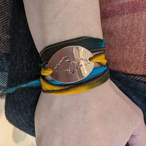 UP Silk Bracelet