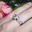 Thumbnail: 14kt White Gold Carriage Ring 1.50ct TW