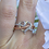 Thumbnail: Rose Gold Rope Heart Ring