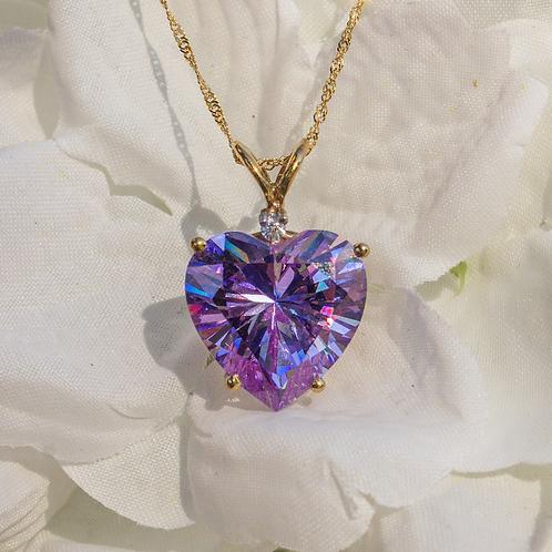 Lilac Ice Heart