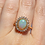 Thumbnail: Australian Opal Yellow Gold Ring
