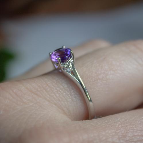 Liliana Amethyst Ring