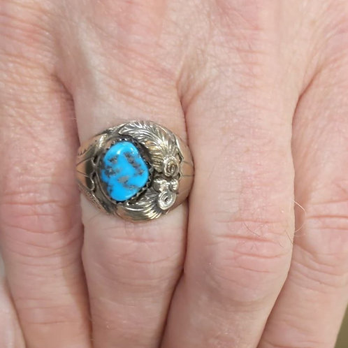 Tuscon Turquoise Ring