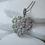 Thumbnail: Sterling Silver & CZ Heart Pendant