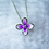 Thumbnail: Sterling Silver Small Lilac Pendant