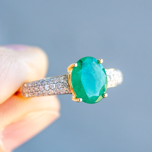 Fauna Emerald Ring