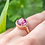 Thumbnail: Callista Pink Topaz Ring