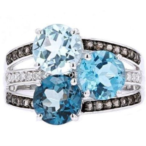 Ori Blue Topaz Ring