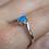 Thumbnail: Lab-Created Opal Ring