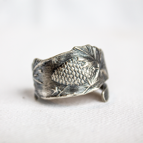 Pine Cone Ring