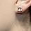 Thumbnail: Cushion-Cut Lab Morganite Earrings
