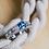 Thumbnail: Mackinac Bridge Tower Ring CZ