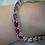 Thumbnail: 20ct TW Rhodolite Garnet Bracelet