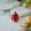 Thumbnail: Orange Cubic Zirconia Ring