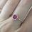 Thumbnail: Ruby Halo Ring