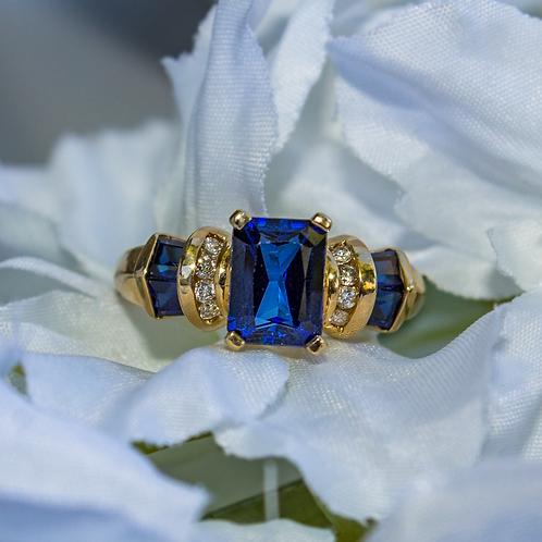 Hailee Sapphire Ring