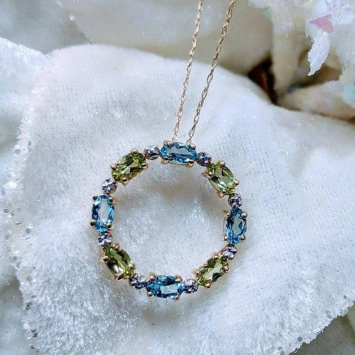 Juniper Gemstone Necklace