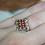 Thumbnail: Floral Garnet Ring