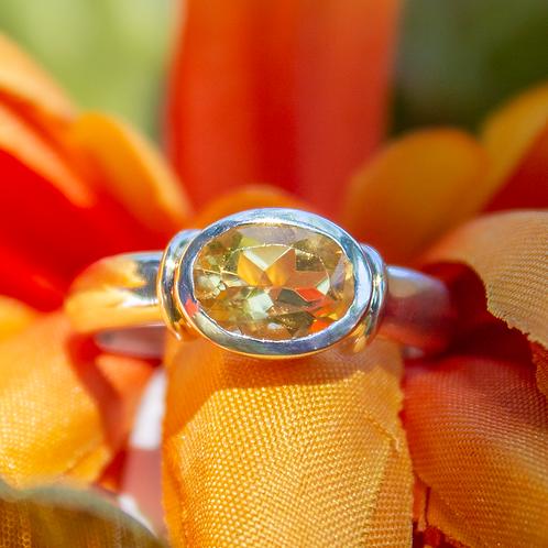 Valaris Citrine Ring