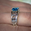 Thumbnail: Unisex Mackinac Bridge Ring White or Yellow Gold