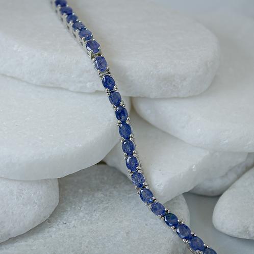 Blue Mahalo Sapphire Bracelet