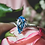 Thumbnail: 4ct Swiss Blue Topaz Ring