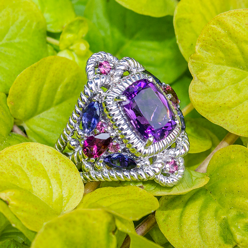 Althea Amethyst Ring