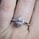 Thumbnail: 14kt White Gold Pear-Shaped Diamond Halo Ring