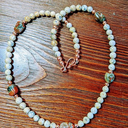 Mixed Michigan Stones Necklace 2