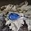 Thumbnail: Teardrop Leland Blue Cuff