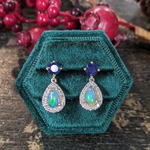 Lumeria Opal Earrings