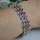 Thumbnail: Vintage-Inspired Amethyst Bracelet