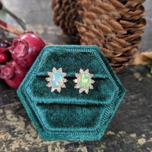 Soleil Opal Earrings