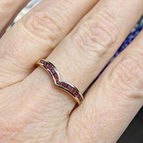 Ruby V Ring
