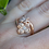Thumbnail: Rose Gold Flower Ring