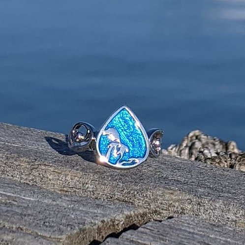 Great Lakes Water Drop Ring