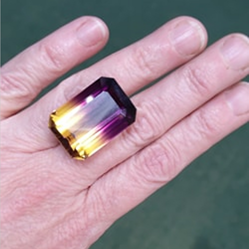 Loose Lab-Grown Ametrine