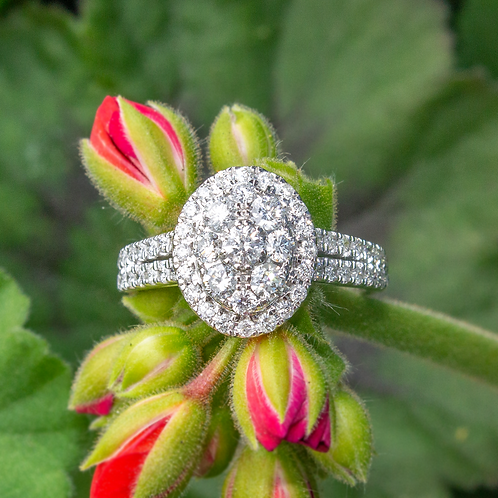 Stacia Diamond & White Gold Ring