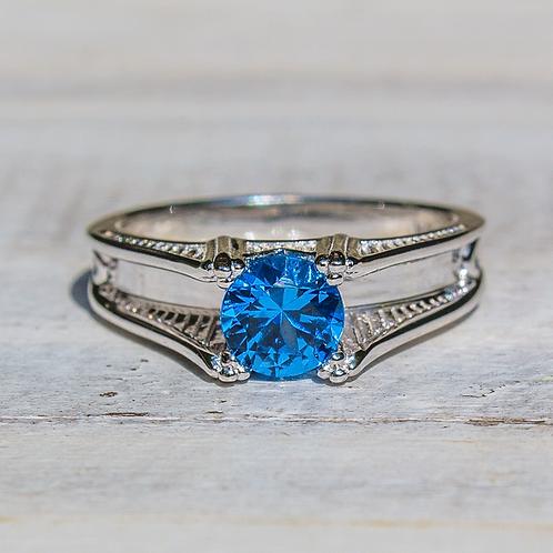 Women's Sterling Silver Mackinac Bridge Ring
