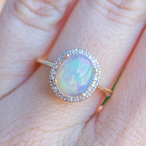 Juno Opal Ring