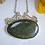 Thumbnail: Oval Mackinac Green Bridge Necklace