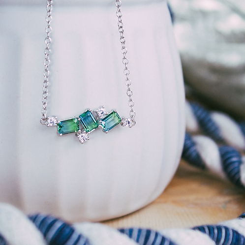 After the Rain Horizontal Necklace